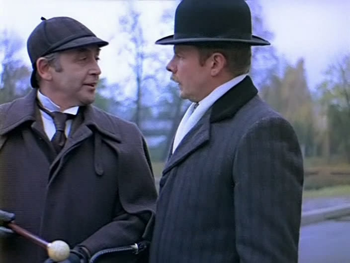 Шерлок холмс и доктор ватсон знакомство актеры